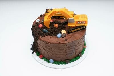 Construction Theme Cake
