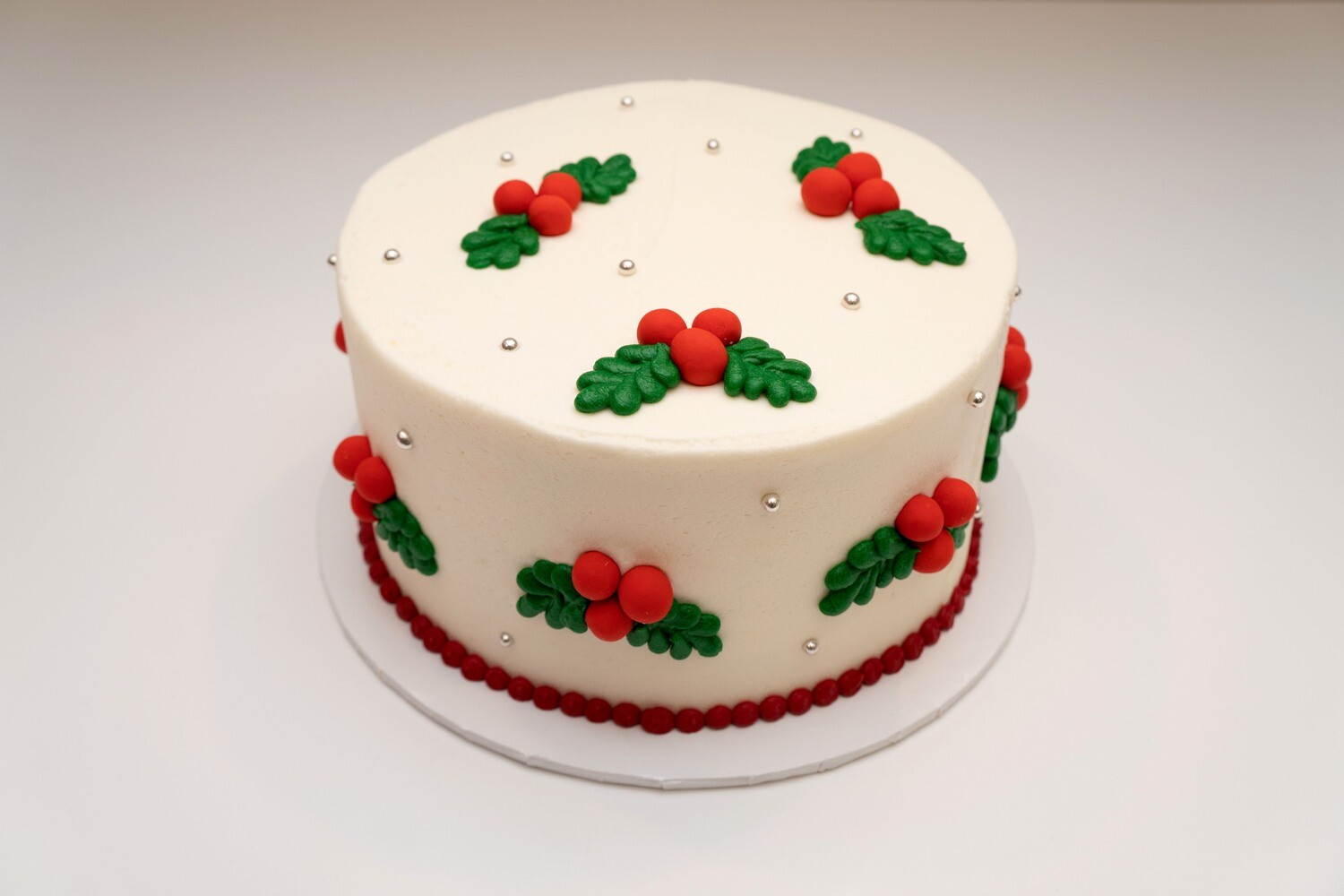 Holly Berries Cake