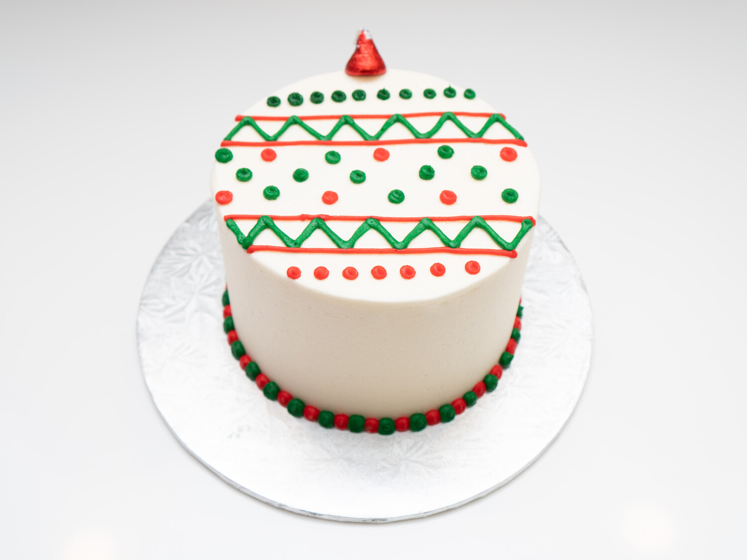 Ornament Decorated Cake