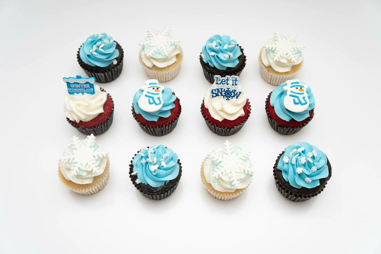 Snow Day Cupcakes