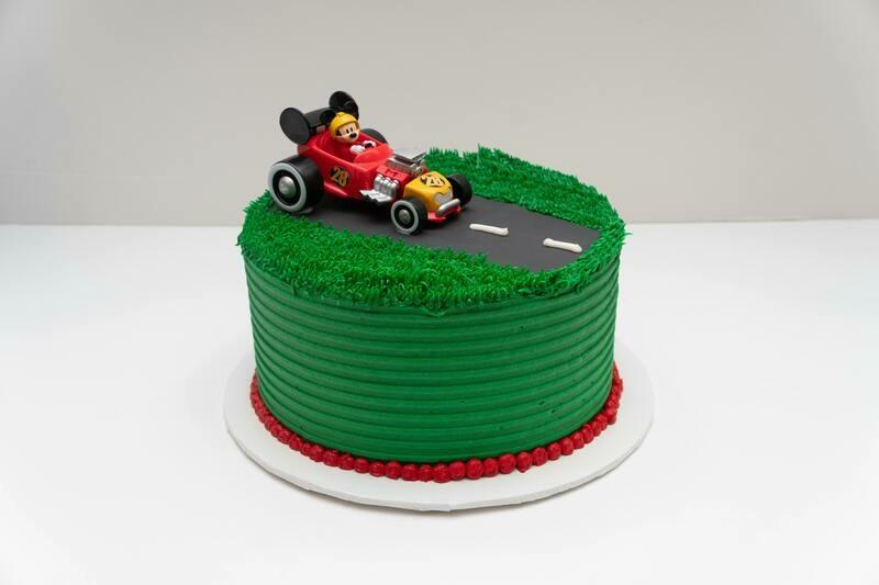 Mickey Roadster Cake