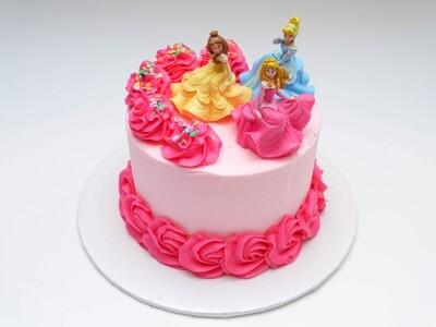 Disney Princess Trio Cake