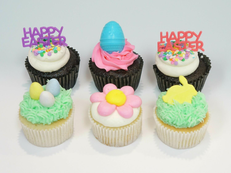 Easter Half Dozen Cupcakes