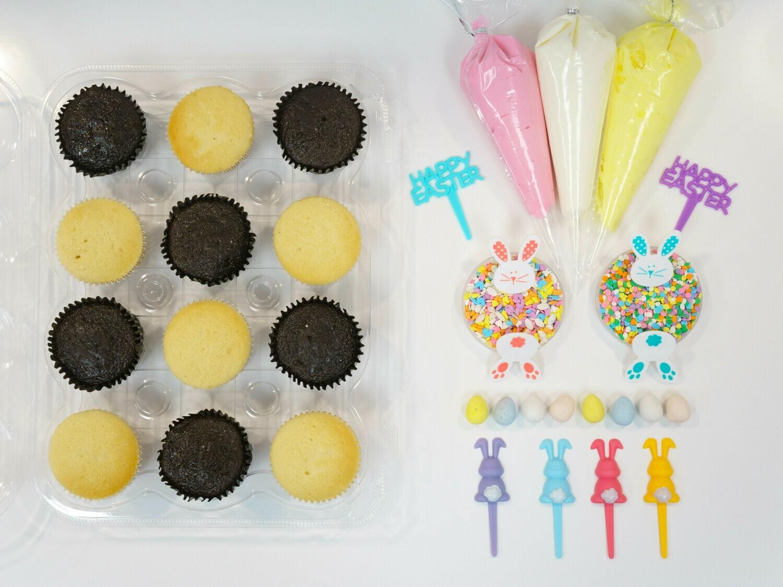 Easter DIY Cupcake Decorating Kit