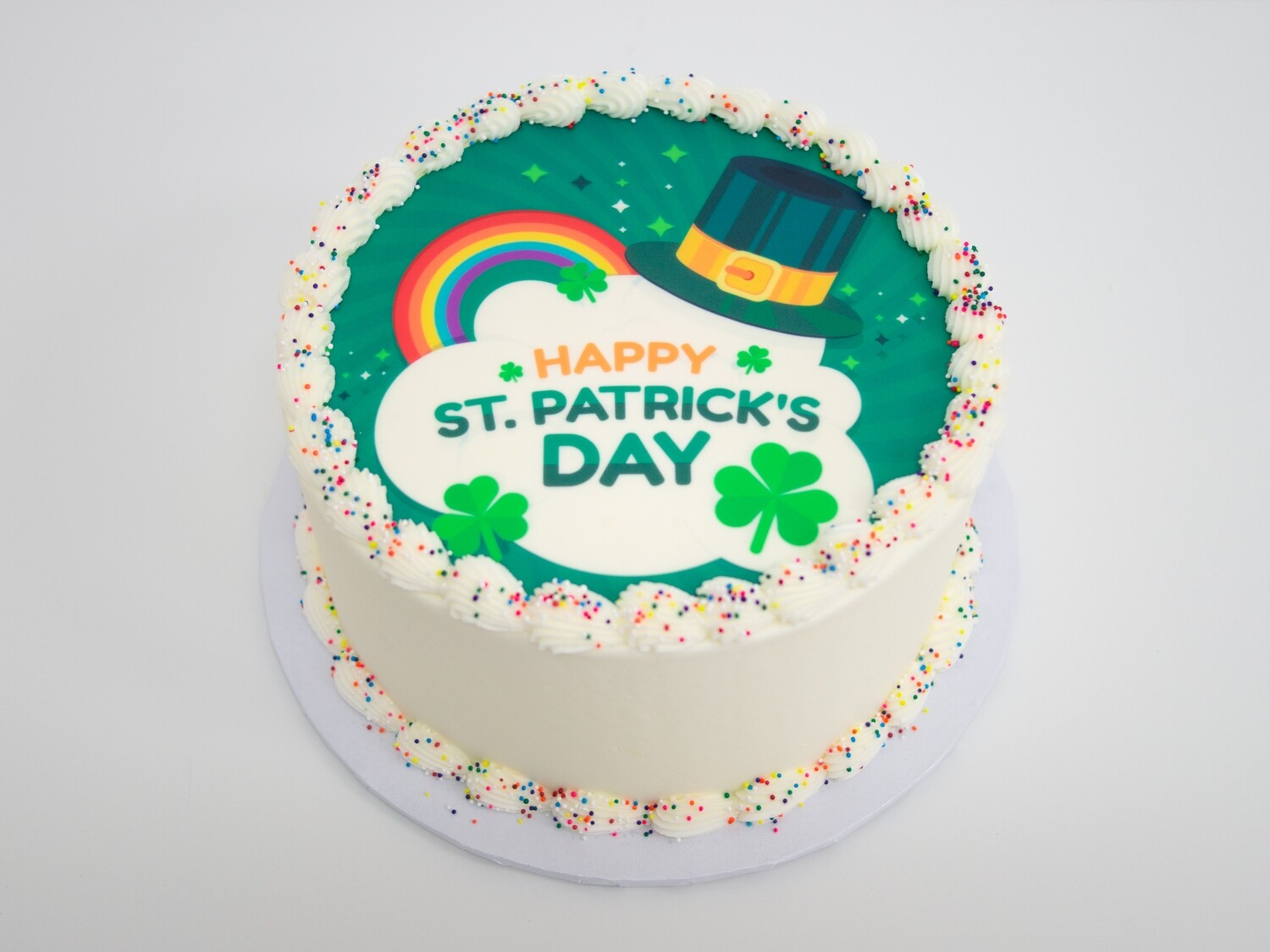 Happy St. Patrick's Day Image Cake