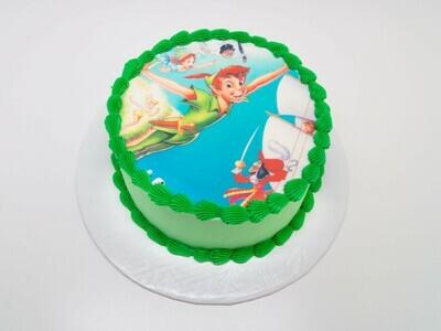 Peter Pan Image Cake