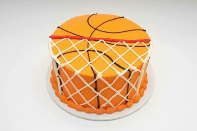 Basketball in Net Cake