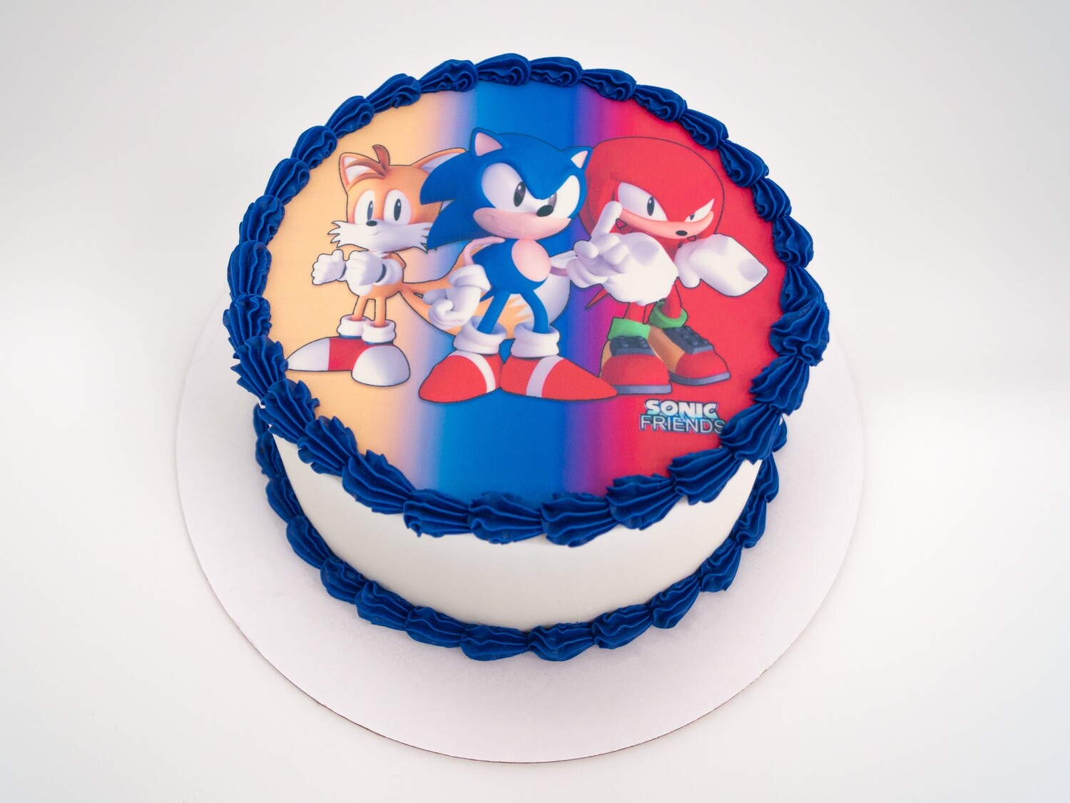 Sonic and Friends Image Cake