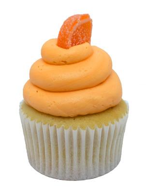 Vanilla Orange Cupcake
