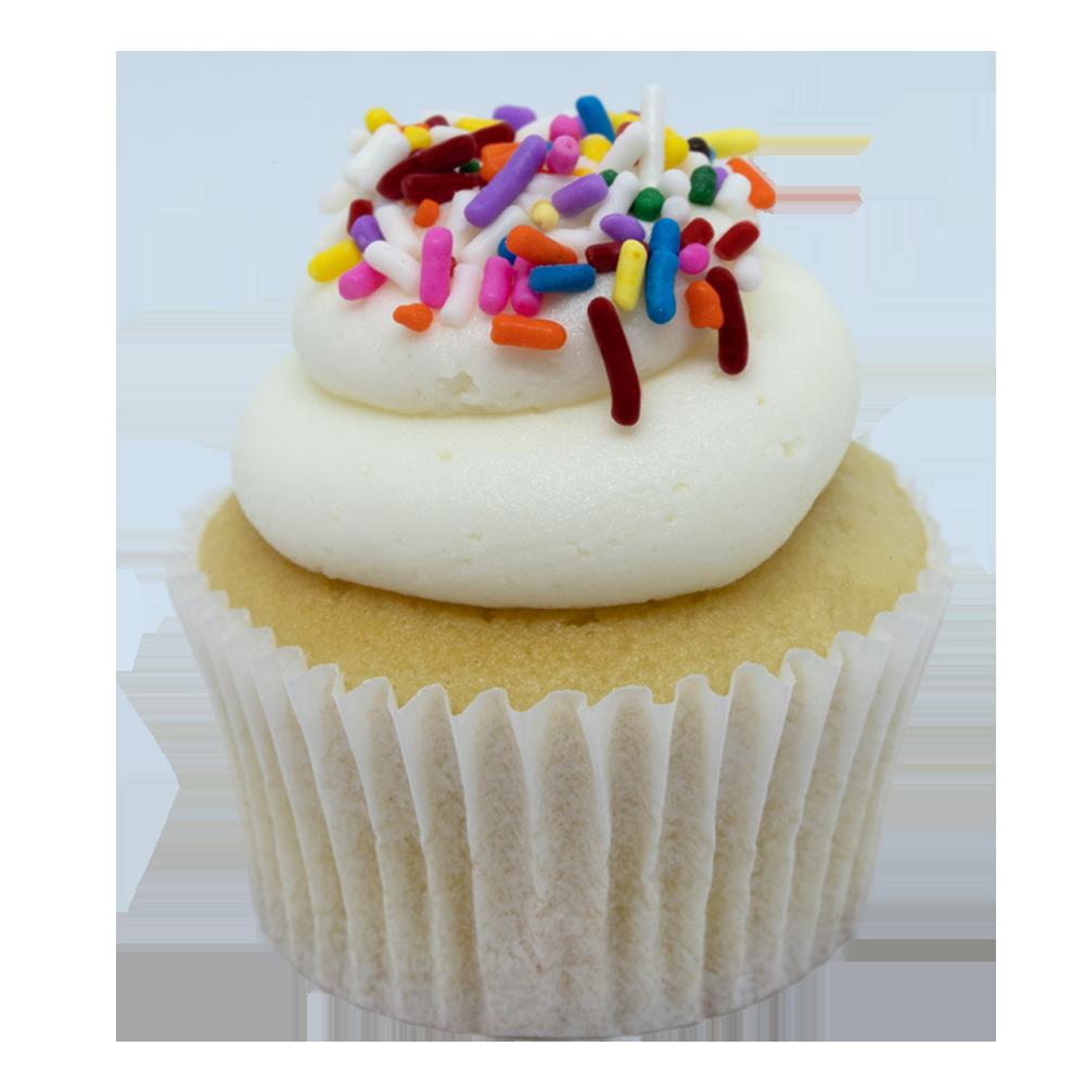 Vanilla Celebration Cupcake