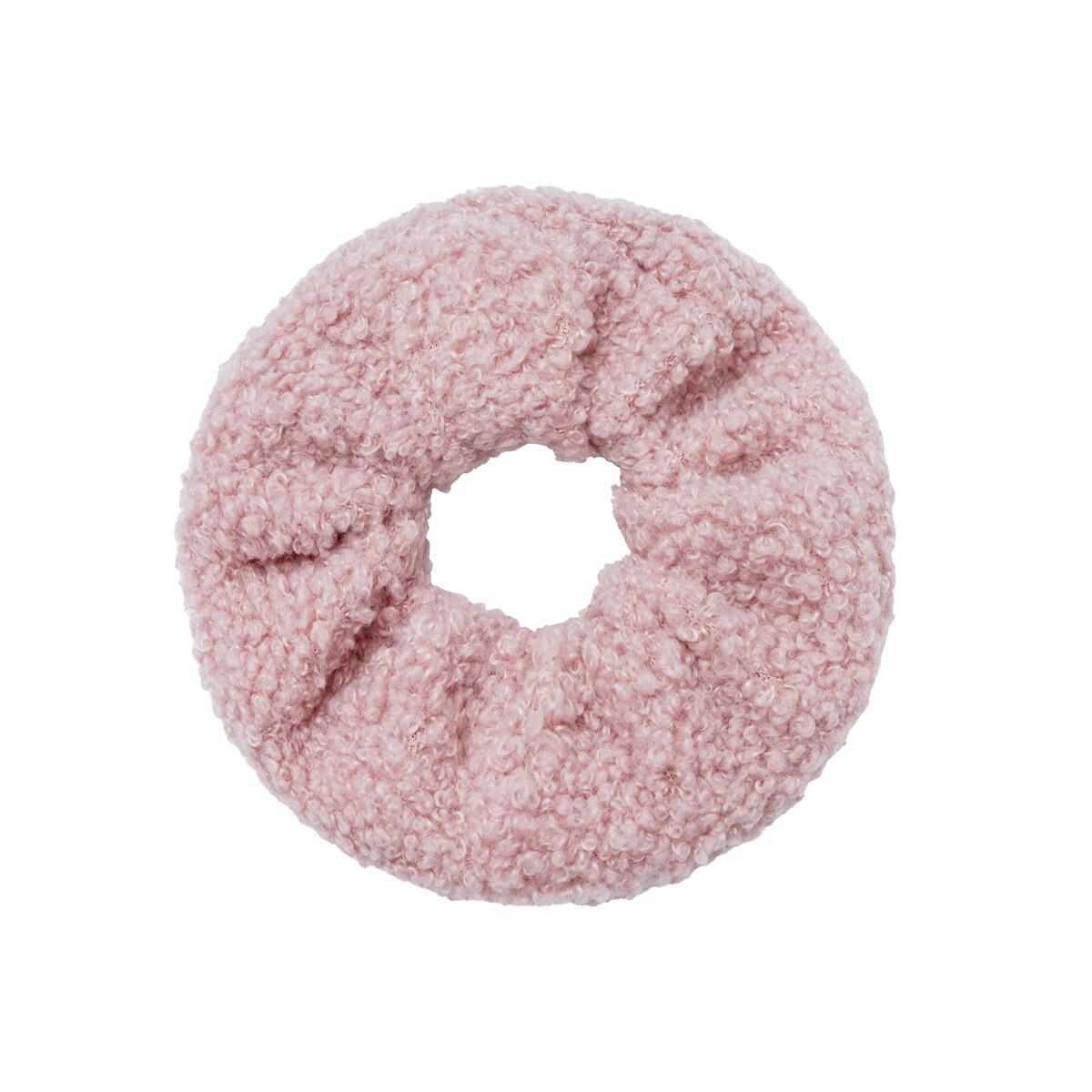 Teddy scrunchies licht roze