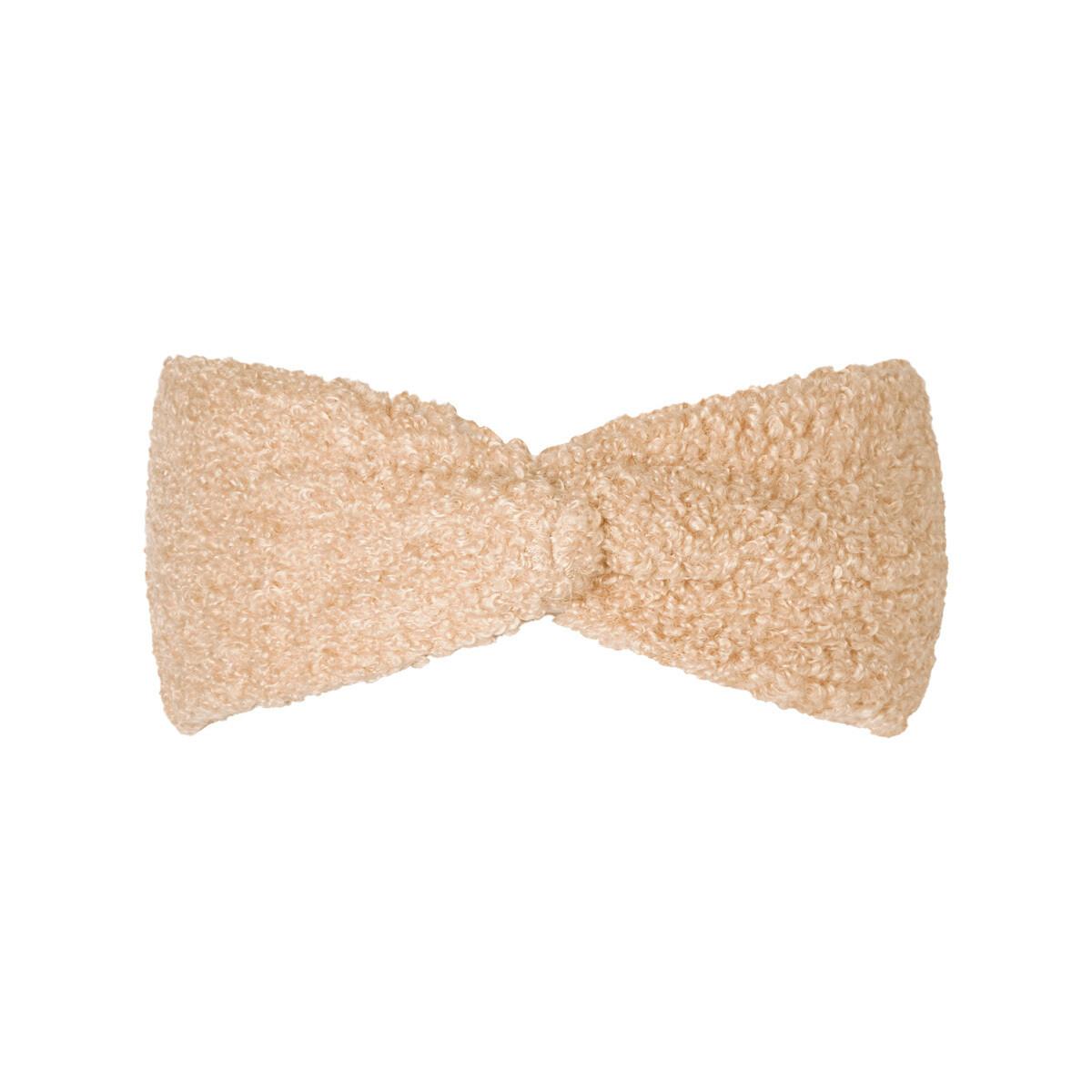 Teddy haarband beige