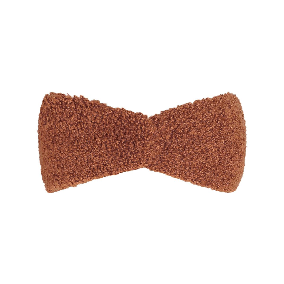 Teddy haarband bruin