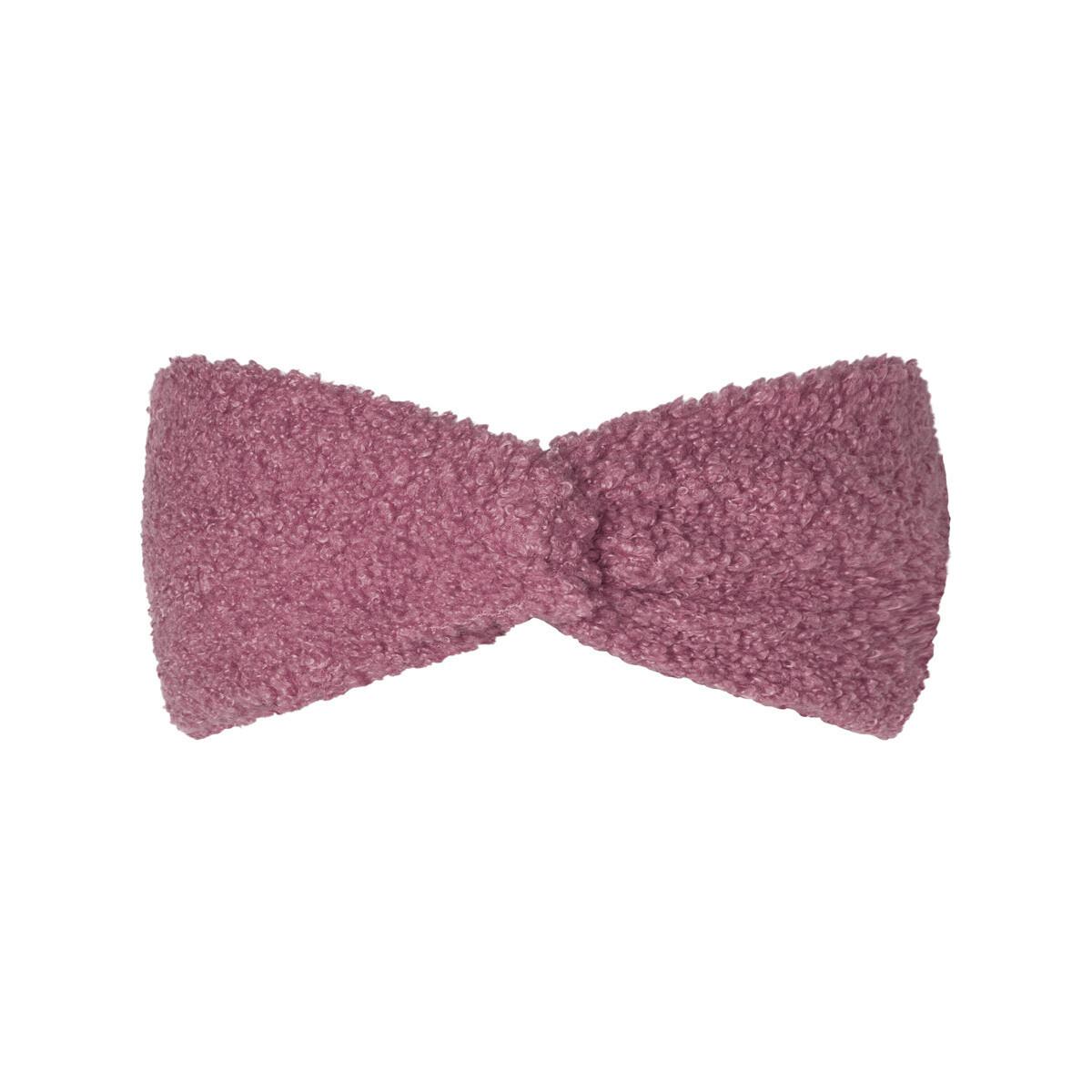 Teddy haarband donker roze
