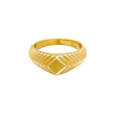Ring Lydia goud