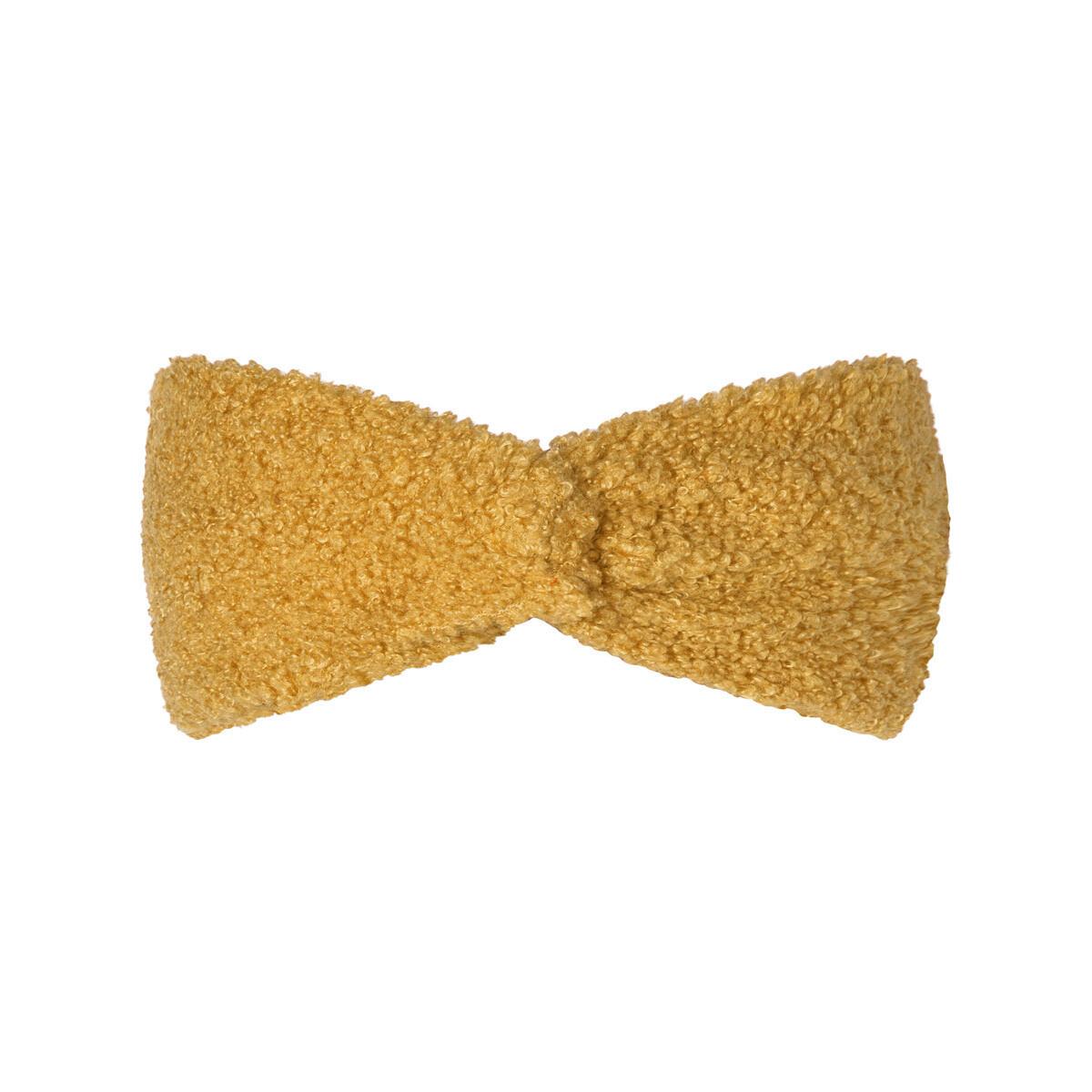 Teddy haarband geel