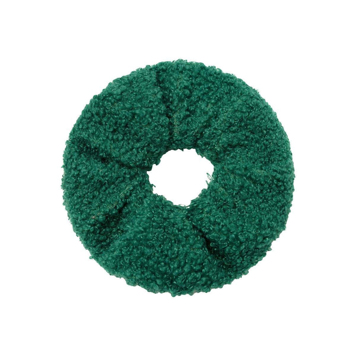 Teddy scrunchie groen