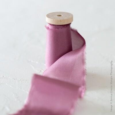 Orchid | Classic Silk Ribbon | 100% Silk