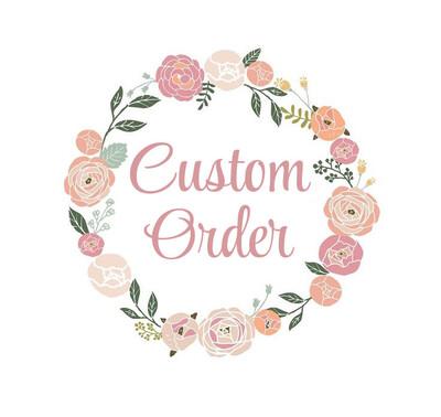 Custom Listing for Little Black Dress Paperie