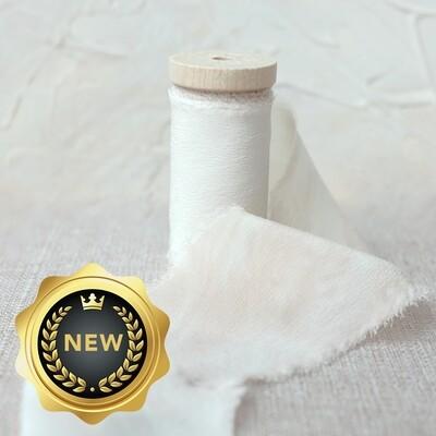 Buttercream | Artist Series Luxe Silk Ribbon | 100% Silk