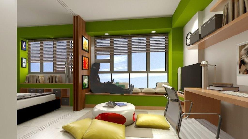 2 room HDB BTO - D series