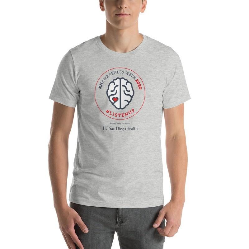 ANAwareness Week Unisex T-Shirt Gray