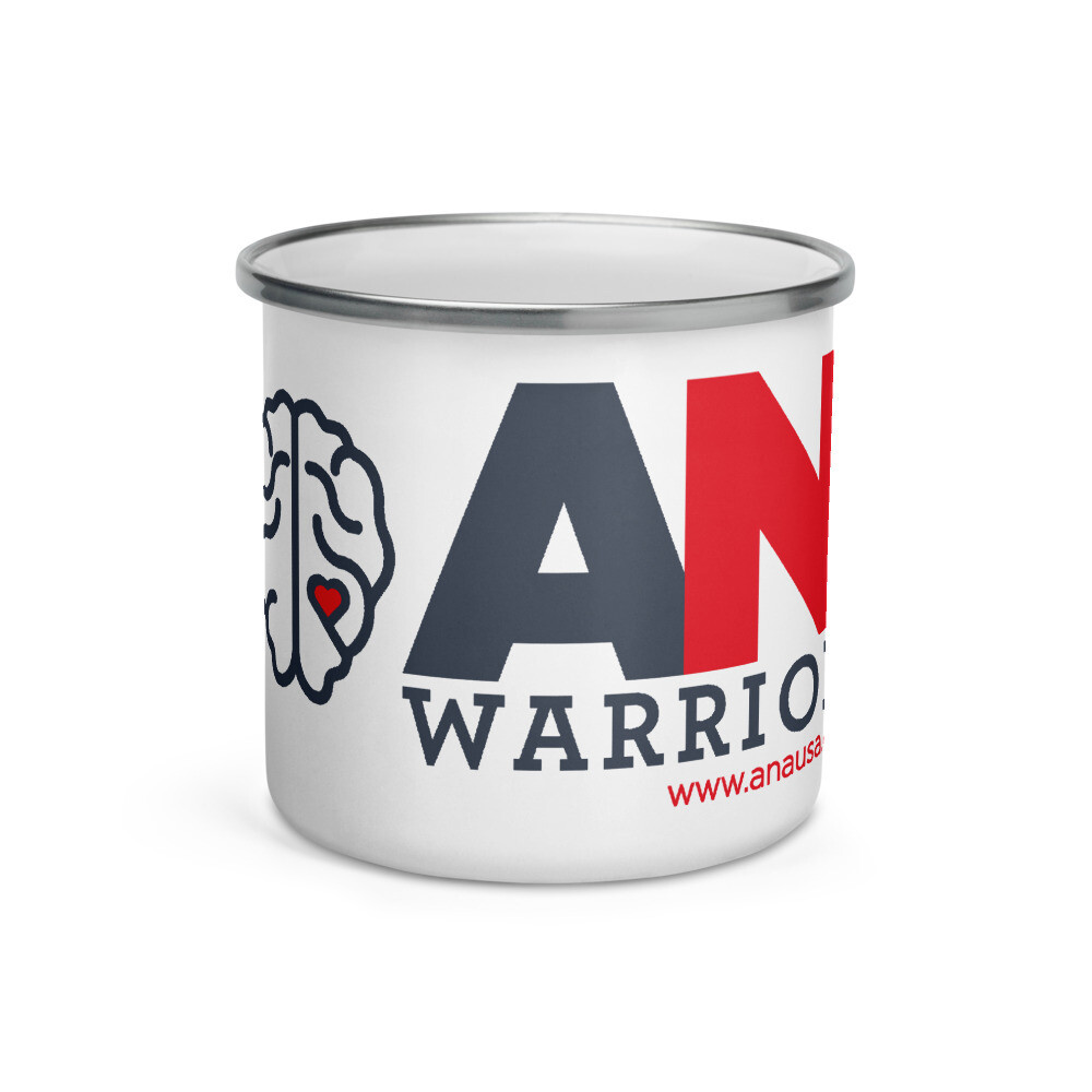 AN Warrior Enamel Mug