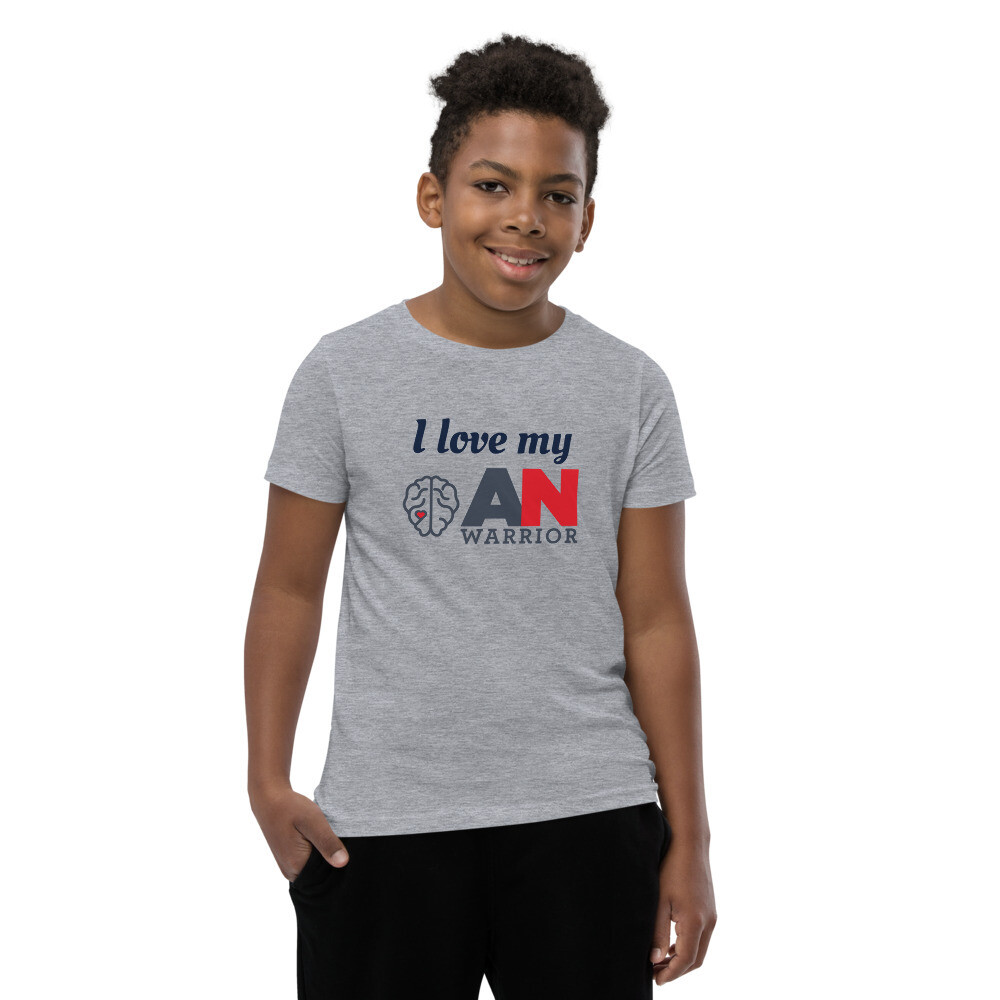 Youth T-Shirt - I love my ANWarrior