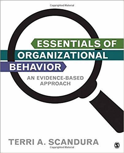 Essentials of Organizational Behavior (eBook, PDF)