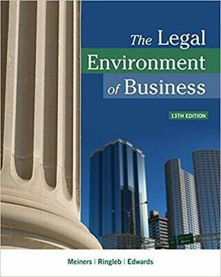 The Legal Environment of Business 13th Edition (eBook, PDF)