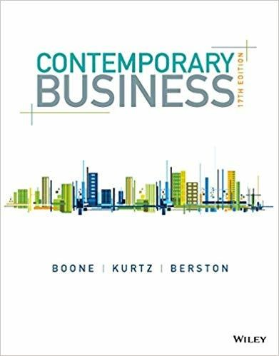 Contemporary Business 17th Edition (eBook, PDF)