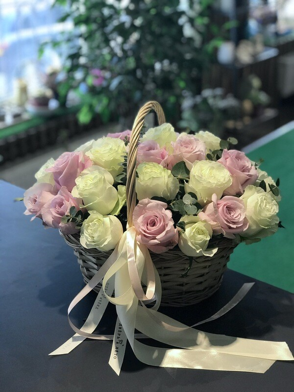 Корзинка роз