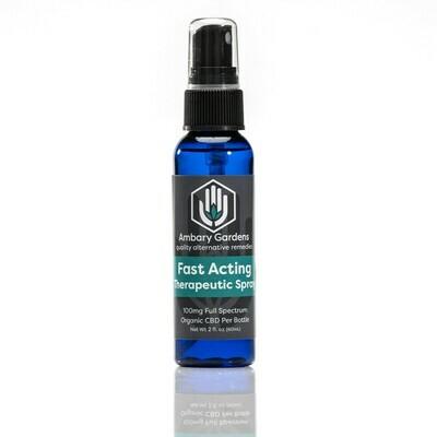 Fast-Acting Therapeutic CBD Spray