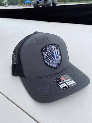 Snapback Hat | Charcoal/Black