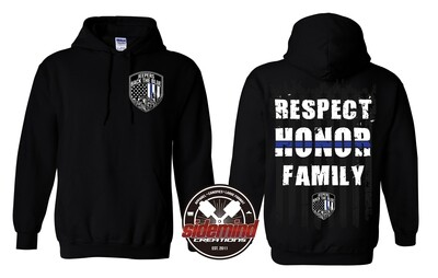 Respect • Honor • Family - Standard Hoodie