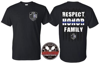 Respect • Honor • Family T-Shirt