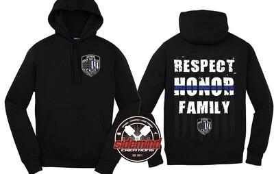 Respect • Honor • Family - Premium Hoodie
