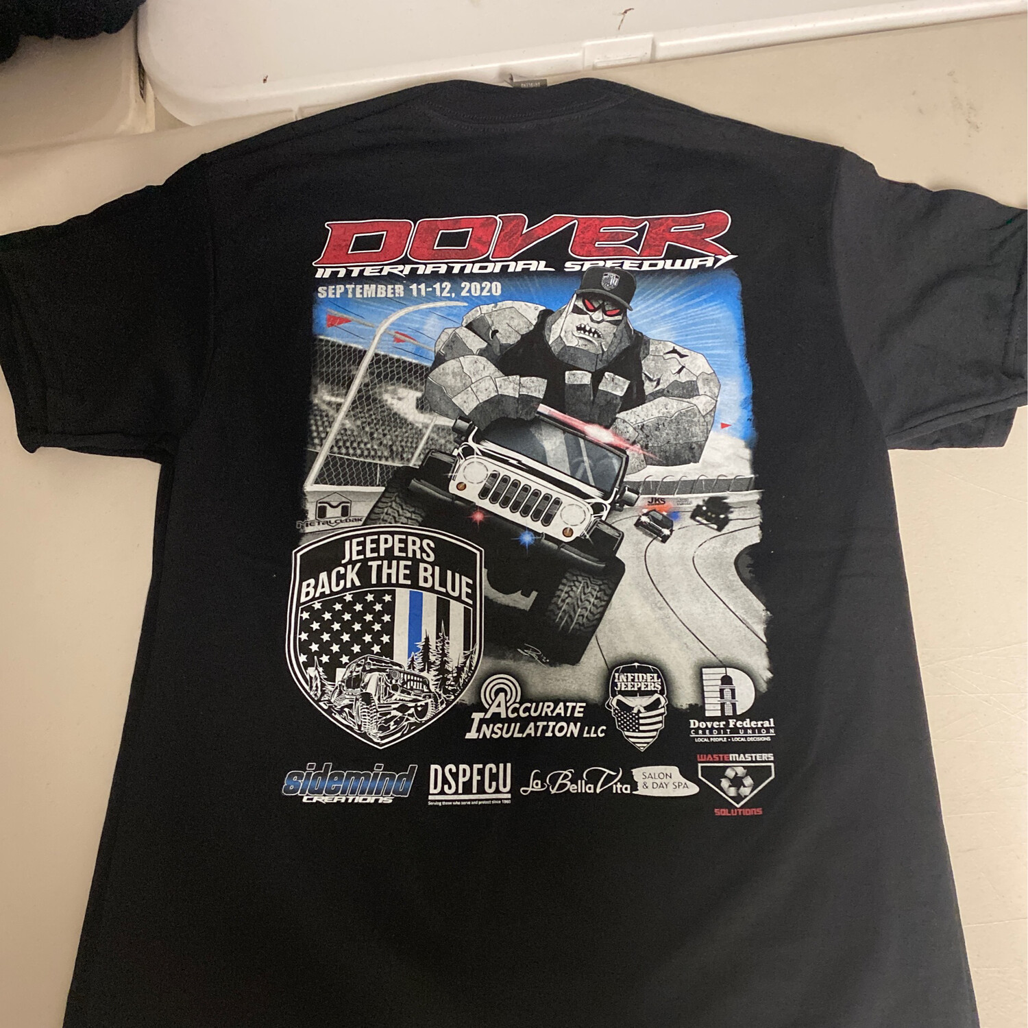 2020 Black Tshirt - 2XL