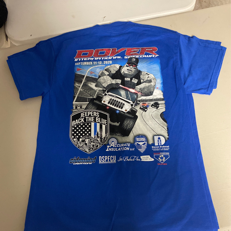 2020 Blue Tshirt - Medium