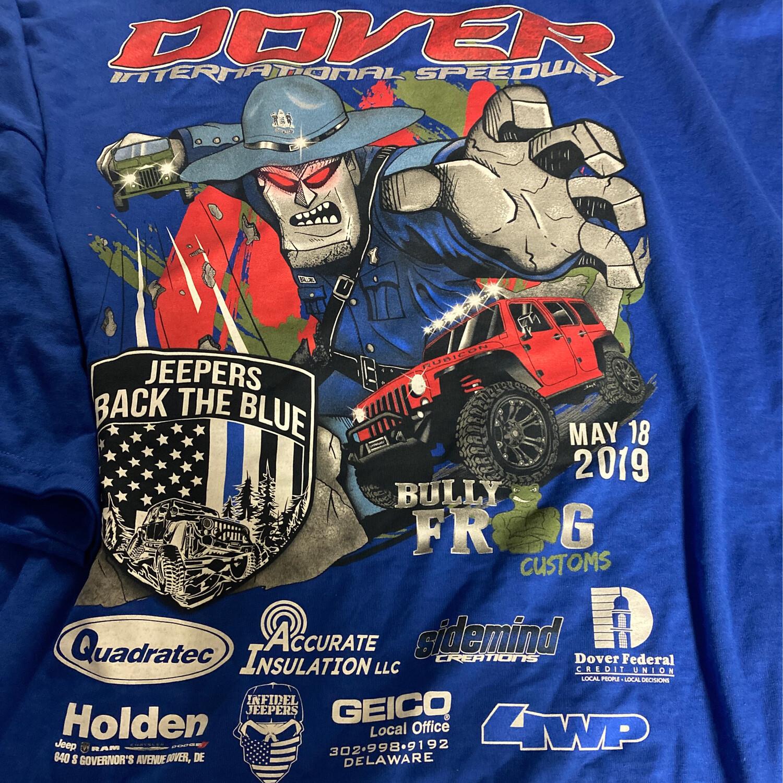 2019 Blue T-Shirt - 3XL