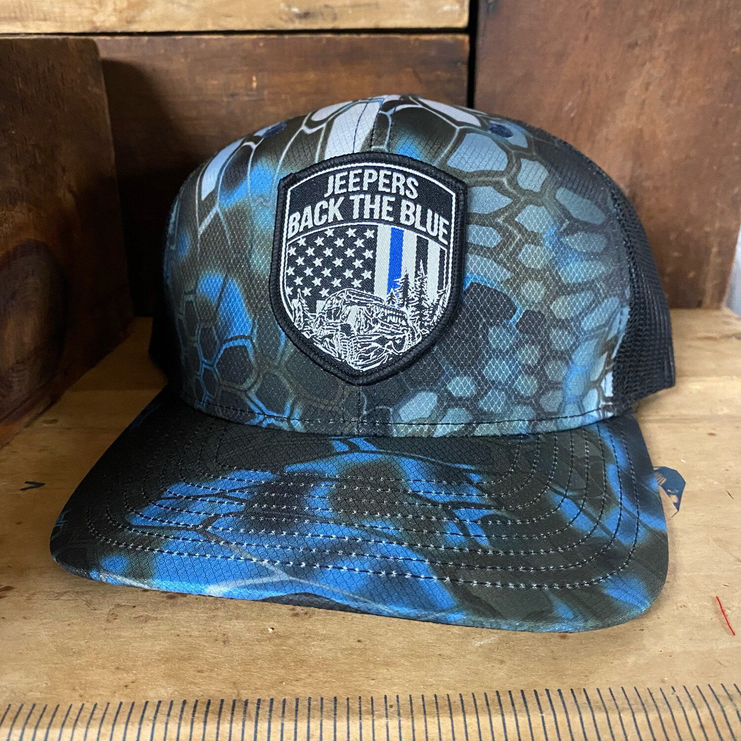 Kryptek Neptune Snap Back Hat