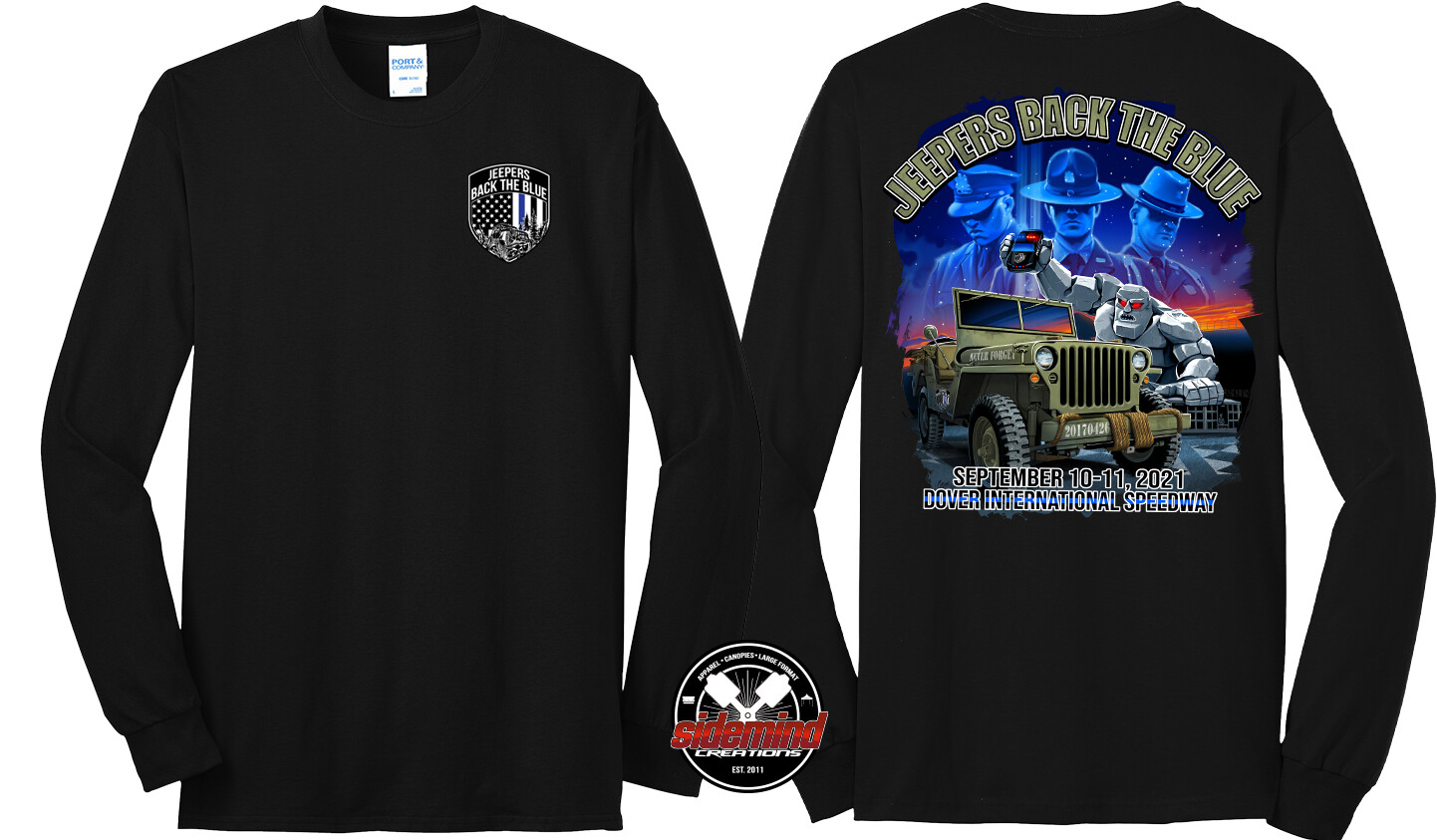 2021 Event Long Sleeve T-Shirt | Black