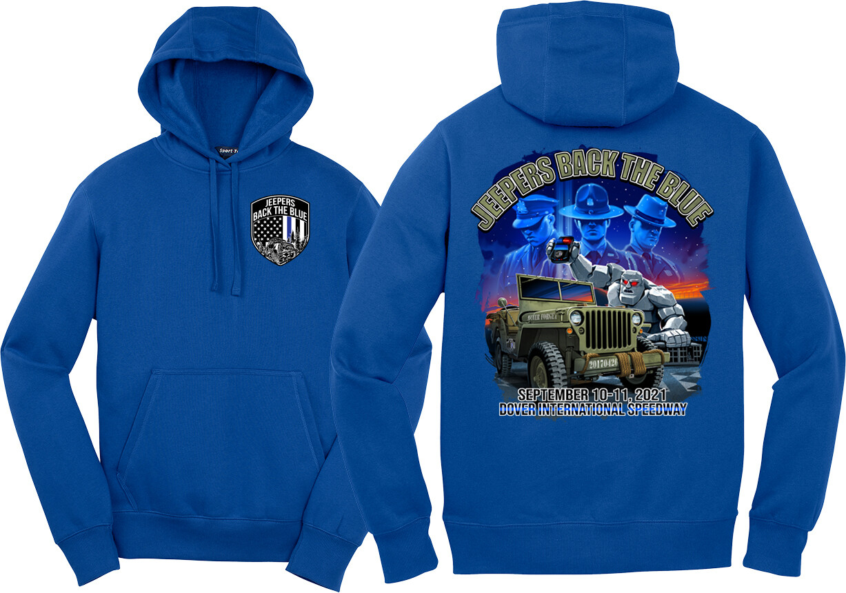 2021 Event Pullover Hoodie | Blue