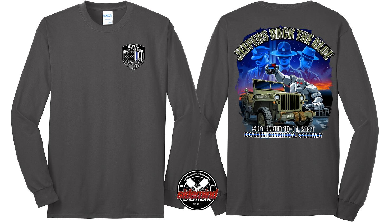 2021 Event Long Sleeve T-Shirt | Charcoal