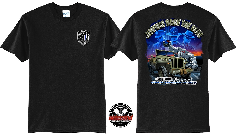 2021 Event T-Shirt   Black
