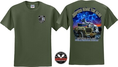 2021 Event T-Shirt | Military Green