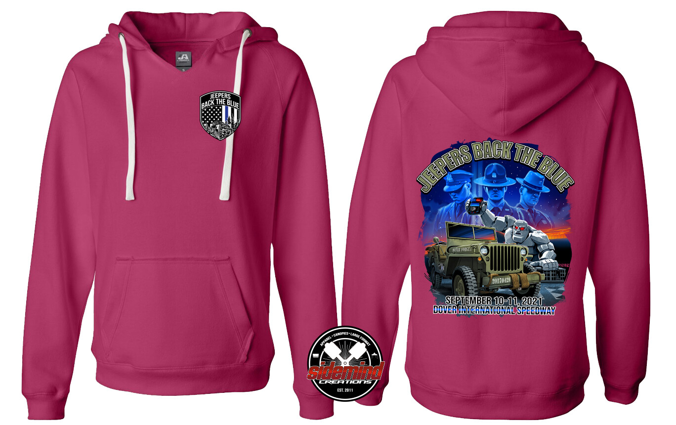 2021 Event Womens Pullover Hoodie   Wildberry