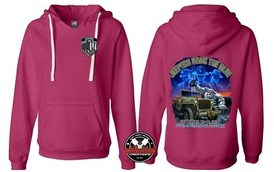 2021 Event Womens Pullover Hoodie | Wildberry