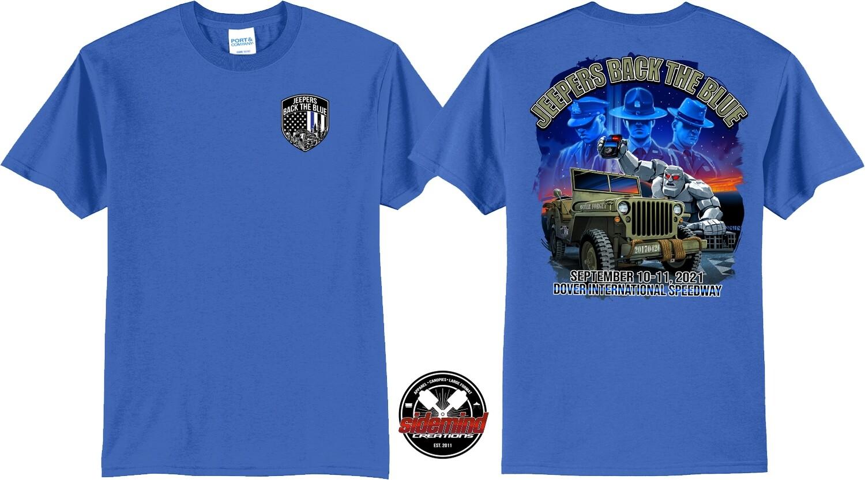 2021 Event T-Shirt   Blue