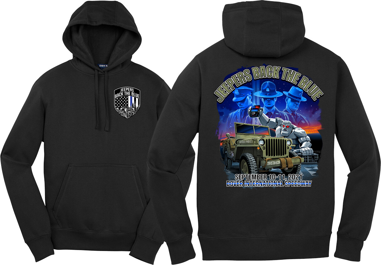 2021 Event Pullover Hoodie   Black